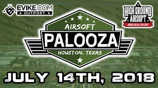Airsoft Palooza Promo - The BIGGEST Airsoft Event in Texas - July 14th, 2018