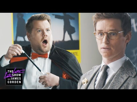 James Corden Flunks Eddie Redmayne's Wizard Test