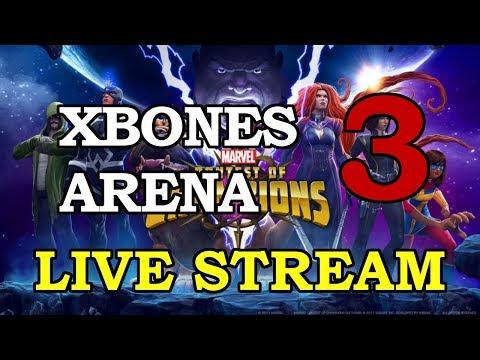 Crossbones Arena - Part 3 | Marvel Contest of Champions Live Stream