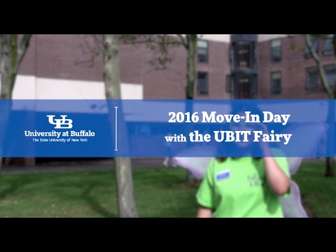 2016 Move-In Day with the UBIT Fairy - University at Buffalo