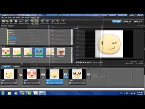 Hướng dẫn sử dụng proshow producer 6.0- ( Phần 1)