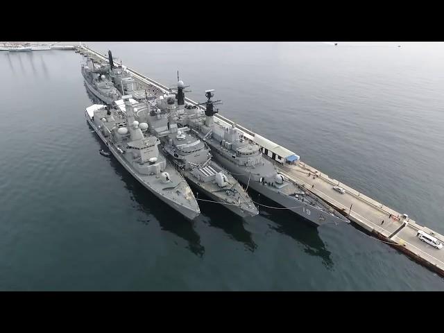 Ceremonia aniversario Escuadra Nacional @ Vía: Armada de Chile