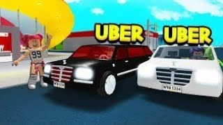 Vi kör uber driver p' Roblox: Willkommen in Bloxburg | (C&H Gaming) [Svenska]