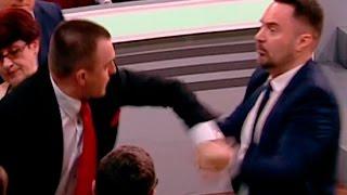 Поляк Томаш Мацейчук получил по морде за красных фашистов(, 2017-04-27T13:06:15.000Z)