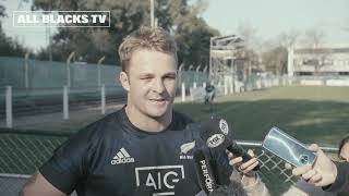 All Blacks Captain's run ahead of Argentina clash