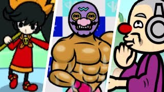 All WarioWare Challenges in Rhythm Heaven Megamix