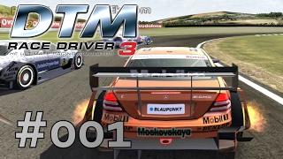 Wir gehen in den Rennsport ✵ #001 ✵ Let's Play DTM Race Driver 3 (100% ★ Deutsch ★ Full HD ★ 60fps)