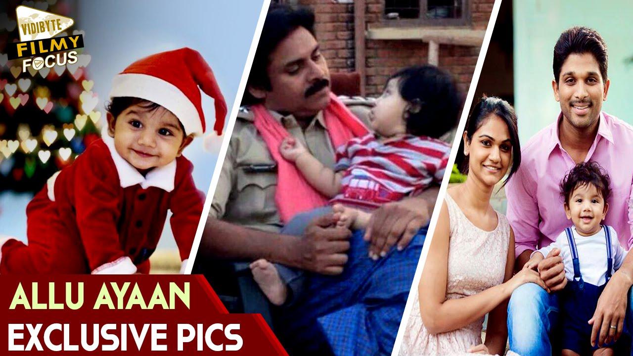 Allu Arjun Son Allu Ayaan Exclusive Pics - Filmy Focus - YouTube
