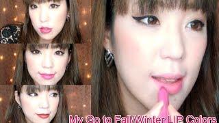 この秋冬に向けて私のお気に入りリップカラーを集めてみました☆ まだまだ集めちゃいそうですなぁぁ(≧∇≦) Cosmetics NYX RoundLipstick/Snowwhite...