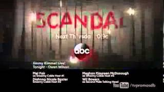 ||HD|| - Scandal 3x03   Season 3 Episode 3 Promo  Mrs  Smith Goes to Washington