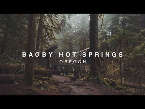 BAGBY HOT SPRINGS - OREGON [Sony a6300 + Zhiyun Crane]