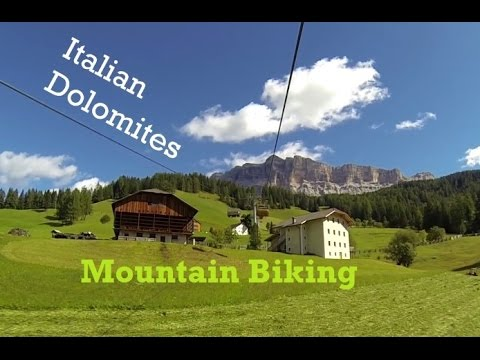 Mountain Biking in the Italian Dolomites [GoPro]
