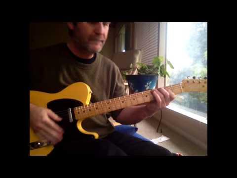 Tim Lerch - Fender Road Worn  Tele Demo