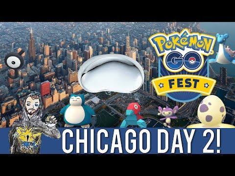 "DESTINATION POKEMON GO IN CHICAGO! Day 2 - Millennium Park, Cloudgate ""Bean"" Sculpture, Sparkie Joy!"