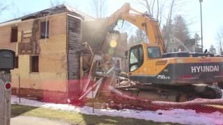 Cattaraugus House Demolition