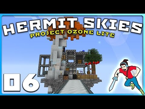 Hermit Skies | Ep 06 | NETHER DERPAGE! || Project Ozone Lite Modded Minecraft
