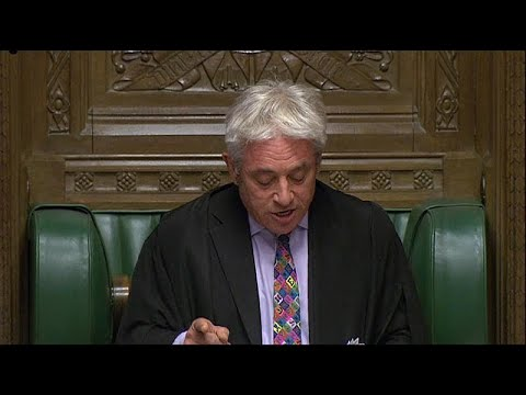 رئيس مجلس العموم البريطاني يوجه صفعة لجونسون ويرفض التصويت مجددا على اتفاق بريكست…  - نشر قبل 52 دقيقة