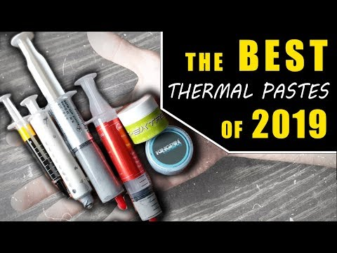 What's The BEST Thermal Paste in 2019....? (Ft. GD900)