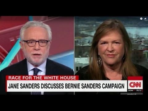 Jane Sanders interview with Wolf on CNN
