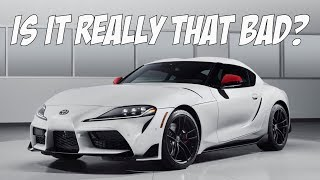 homepage tile video photo for My Thoughts on the 2020 Toyota Supra