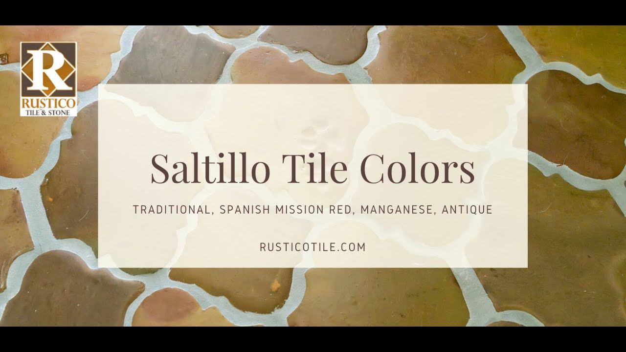 whitewash glazed saltillo stained mexican tile shipped by rustico tile