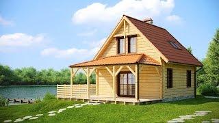 Проекты домов и коттеджей из дерева(Проекты домов и коттеджей из дерева никогда не утратят популярность – ведь дерево обладает особым обаяние..., 2014-11-04T10:37:59.000Z)