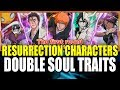 NEW RESURRECTION CHARACTERS DOUBLE SOUL TRAITS, STATS & SKILLS Bleach Brave Souls