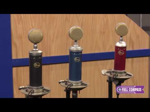 Blue Microphones SL Series Large-Diaphragm Condenser Microphones Overview | Full Compass