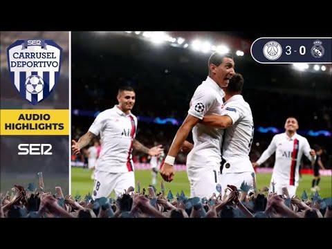 PSG 3 - 0 Real Madrid: los goles del partido de Champions League en Carrusel Deportivo