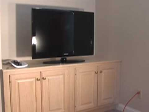 ENTERTAINMENT CENTER CABINETS - YouTube