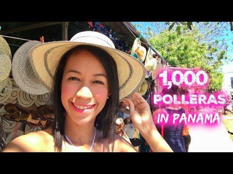 1000 Polleras Parade in Panama