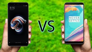 Xiaomi Redmi Note 5 Pro VS One Plus 5T // Which is better