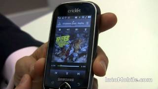 Cricket Muve Music hands-on demo from CES Las Vegas 2011