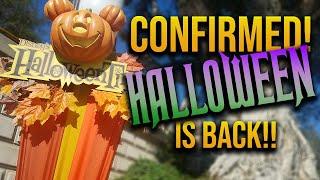Oogie Boogie Bash and Halloween at Disneyland CONFIRMED!