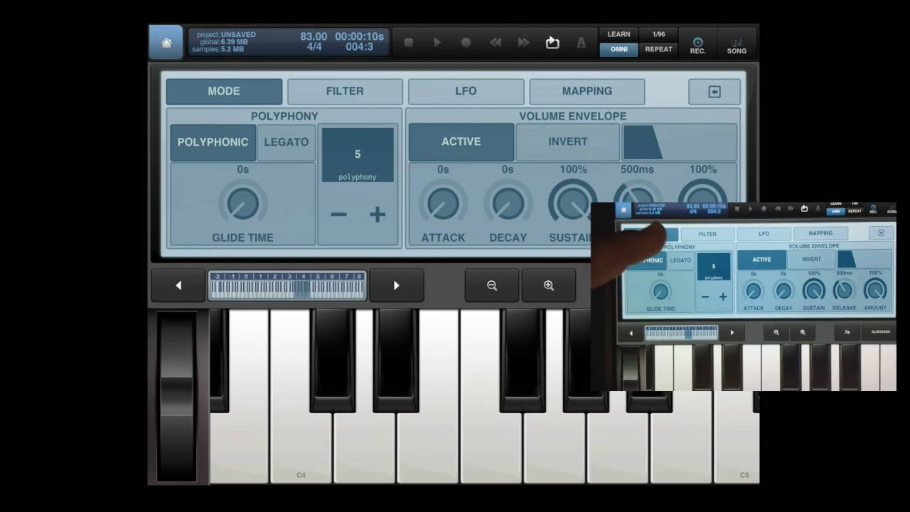 808 glides mapping samples keyboard in ios beat maker 2 for ipad mobile tip tuesday youtube. Black Bedroom Furniture Sets. Home Design Ideas