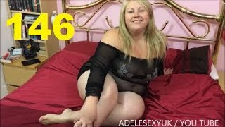ADELESEXYUK TRYING ON A ANN SUMMERS BRITNEY GLITTER MESH DRESS