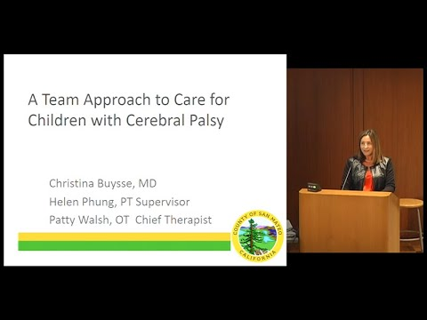 Team Approach to Care for Children with Cerebral Palsy