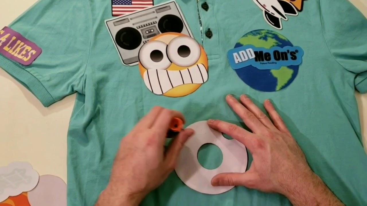 Decorating shirts!