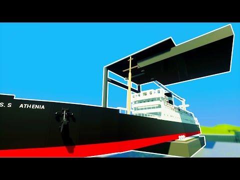 WORLD'S LARGEST HYDRAULIC PRESS VS LEGO CRUISE SHIP! - Brick Rigs Workshop Creations Gameplay