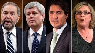 Leaders prep for 1st election debate