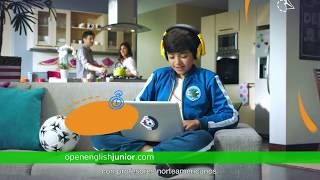 Fútbol | Comerciales | Open English Junior