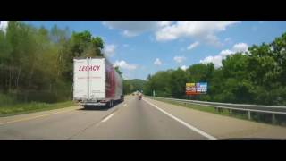 Driving on I80 from Berwick, PA to Parsippany - Troy Hills, New Jersey