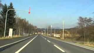 北海道道11号月形厚田線(Part2)道道28号と重複区間[当別町]