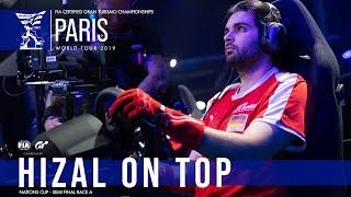 Hizal roars to victory in flying Ferrari in Paris