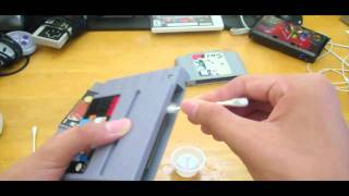 How to clean old/Retro Game Cartridges