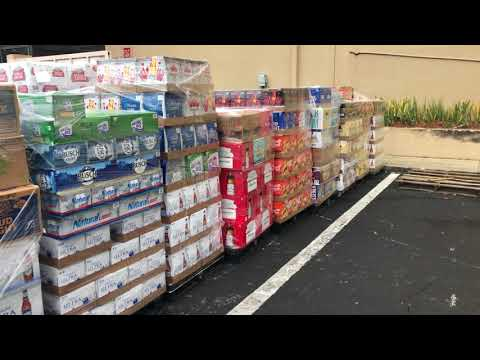 17 Pallets of Anheuser-Busch Products at Total Wine