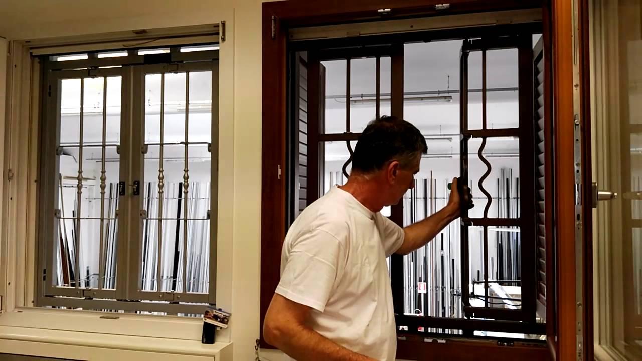 Inferriate con allarme youtube - Antifurto finestre aperte ...