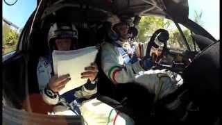 C.I.RALLY SANREMO 2013 - PS7 - ANDREUCCI CRASH - CAMERA CAR
