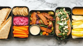 Fall Bento Box Lunch Ideas for School or Work 🍁  (Vegan)