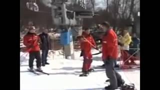 Урок 6  Видео как научиться кататься на сноуборде